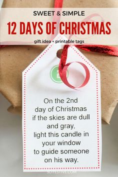 12 days of christmas gift ideas lds singles