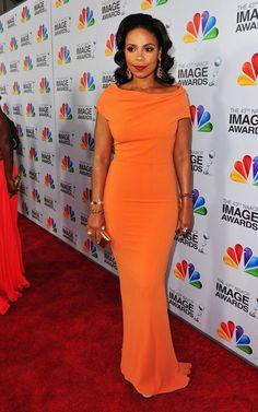 Sanaa Lathan NAACP Image Awards 2012