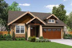 Ccraftsman style bungalow Plan 48-598 at Houseplans.com: 1-800-913-2350