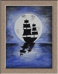 acrylic paintings | Art on Sketchbook - by Megha Chhatbar: Acrylic Painting on Canvas ...
