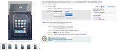iPhone 2G Unopened on eBay - $10,000 plus?!?