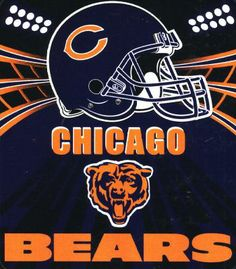 2 Chicago Bears vs Detroit Lions Tickets - Soldier Field - Sec 432 Rw 10 Chicago Bears Shoes, Chicago Bears Pictures, Nfl Chicago Bears, Bear Photos, Chicago Football, Bears Football, American Football League, National Football League, Monster Party