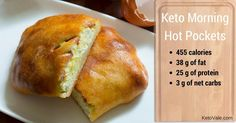 These delicious 5-ingredient keto breakfast pockets are filled with cheese, butter, egg, almond flour and bacon. You can fill these amazing hot pockets with...