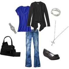 This is my mommy outfit including a diaper bag! Everything here can also be bought at Wal-Mart and Target!