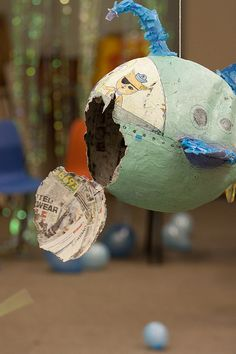 matilda | octonauts party | the end of the Pinata :-(