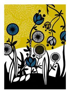 floral @nadiataylor #print