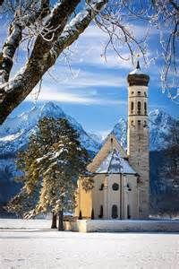 'The Pilgram's Church', Saint Coloman Church,  Schwangau, Bavaria, Germany