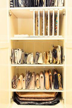 dritte per tenere in ordine le borse thecoveteur.com
