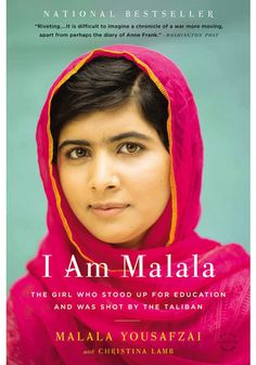 I Am Malala, finished April 2015. A fascinating story of courage and activism made even more compelling by her young age.
