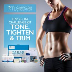 Shape up with the TLS Weight Loss 21 Day Challenge Kit!   Find out more: http://www.tlsslim.com/net2malls