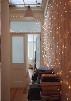 It's time to take down your Christmas lights, but don't get bummed out: make magic happen! Here are 7 ideas for re-purposing your lights around the house.