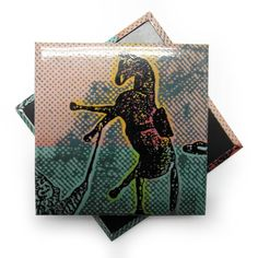 Custom #magnet created for Polke #Artexhibition @palazzograssi  More: http://blog.sadesign.it/polke-palazzo-grassi/