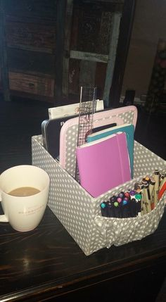 Bullet Journal box. Great idea!