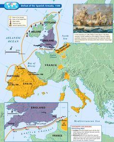 (1588) Spanish Armada Invasion
