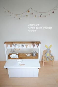 オーダー用「2WAYままごとキッチン」試作品完成しました♡ | Chairs and. ナチュラルなインテリアと雑貨と手作りと、日々のこと。(このブログは引っ越ししました)