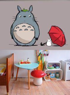 unique peint a la main Mon voisin Totoro