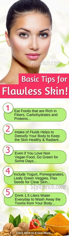 Flawless Skin Tips : How to Get Clear Smooth Skin in Few days! Flawless Skin Tips : How to Get Clear Foods For Healthy Skin, Healthy Skin Care, Clear Skin Tips, Sagging Skin, Skin Food, Tips Belleza, Flawless Skin, How To Slim Down, Smooth Skin