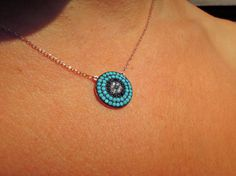 Check out this item in my Etsy shop https://www.etsy.com/listing/247475133/evil-eye-necklace-evil-eye-jewelry-rose