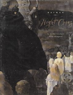Batman: Night Cries # 1 DC Comics 1st Print Hard Cover