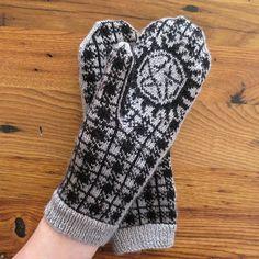 DIY Knit Cactus Mittens