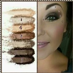 This look is from Younique Moodstruck addiction palette 1... The pigment is amazing! This palette which consists of 7 different colors is ONLY $49! You can't beat that!