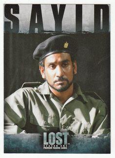 Lost - Season 1 # 66 Sayid Jarrah: Authority - Inkworks - 2005