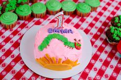 The Very Hungry Caterpillar Birthday Party Ideas | Photo 2 of 37 | Catch My Party