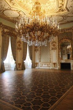 Interior Liechtenstein palace Vienna