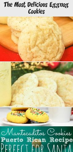 The Most Delicious Eggnog Cookies Easy Christmas Cookie Recipes, Delicious Cookie Recipes, Best Cookie Recipes, Holiday Recipes, Eggnog Cookies, No Bake Cookies, Yummy Cookies, Hot Cocoa Recipe, Cocoa Recipes