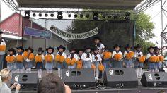 Nyírmada városnap 2013 Napsugár óvoda majorett csoport