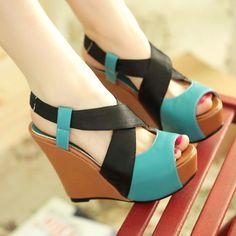2014 summer sandal shoe   Newest 2014 Summer Sandalias Zapatos shoes for women gladiator open ...