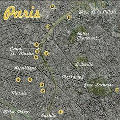 Design tour of Paris.