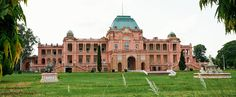 The Jagatjit Palace in Kapurthala in India was inspired by the famous French Palaces of Fontainebleau & Versailles.   DOABA – THE HEART OF PUNJAB Pakistan Bangladesh, India And Pakistan, Indian Architecture, Famous French, Castle House, Chateaus, Tourist Places, Incredible India, Palaces