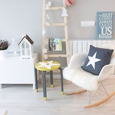 mommo design: 8 ADORABLE IKEA HACKS - Star FROSTA stool
