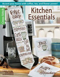 Kitchen Essentials Cross Stitch Patterns for the Kitchen