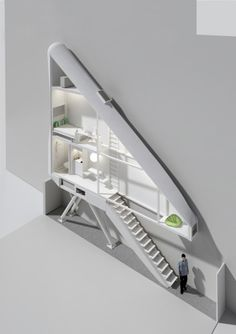 In Warsaw, Poland in the district of Wola lies a small crack of space between the buildings on 22 Chłodna Street and 74 Żelazna Street.  Jakub Szczęsny of Centrala, recognized the potential to create something unique within this narrow area, and derived a design of an art installation entitled Keret House. The house upon completion shall become the narrowest house in Warsaw, measuring an interior that will vary between 122 centimeters and 72 centimeters in its narrowest spot.    Architects: Cen...