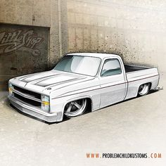 Truck Tuesday: By popular demand, that project. Truck Tuesday: By popular demand, that project. Lowered Trucks, Gm Trucks, Cool Trucks, Pickup Trucks, Cool Cars, Bagged Trucks, Dually Trucks, C10 Chevy Truck, Classic Chevy Trucks
