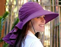 Sundancer Hat, a UV protective hat with neck drape. Adjusts to fit my ginormous head!