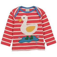 Baby Box Baby Boys kids long sleeve duck TShirts Size 24M ** Want additional info? Click on the image(It is Amazon affiliate link). #red