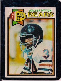 1979 Topps Walter Payton Bears #480 Football Card, cards
