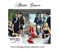 Seasonal parties will soon begin make sure to use Repechage and put your best face forward.  Find it at www.alanagracespa-skincare.com
