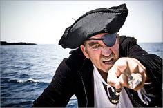 Avast ye, matey! In honor of International Talk Like a Pirate Day was invented in 1995 by John Baur and Mark Summers. 10 pirates listed here with little info
