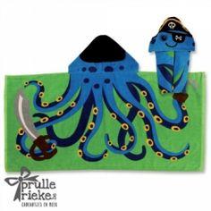 badhanddoek octopus . Stephen joseph  By www.prullerieke.be