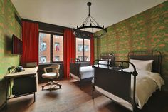 Design Milk Travels to… Tbilisi, Georgia Industrial Windows, Guest Room Decor, Most Luxurious Hotels, Glass Facades, Style Tile, Design Hotel, Retro Design, Georgia, Interior Design