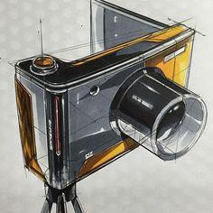 Digital Camera Sketch & Design