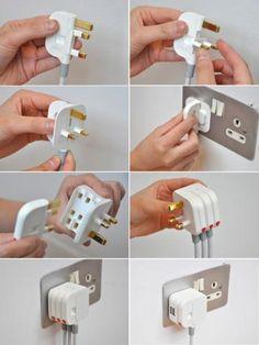 Folding plug wins international award for student inventor
