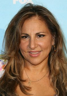 On the list of women whose faces I wish I had - Kathy Najimy.  GREAT face.