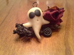 Check out this item in my Etsy shop https://www.etsy.com/listing/205852887/polymer-clay-ghost-charm-glows-in-the