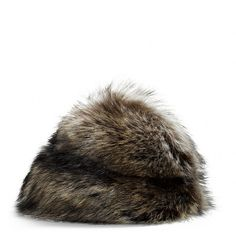 Coach Fur Molded Hat ($498) ❤ liked on Polyvore
