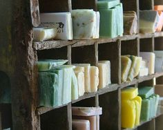 Hand Made Soap in tons of scents